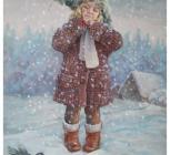 Снег, Гладышева Е.Г., 2013, х. м., рук. Кожаро В.А..jpg