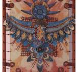 Декоративное панно Птица- зараница автор Анфилова Е.В. , смешан. техника, 2012, рук. Лисовская Е.И..jpg